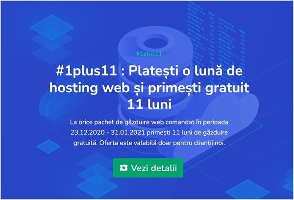 Ofertă specială la pachetele de găzduire web premium